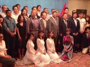 ベトナム大使館での様子